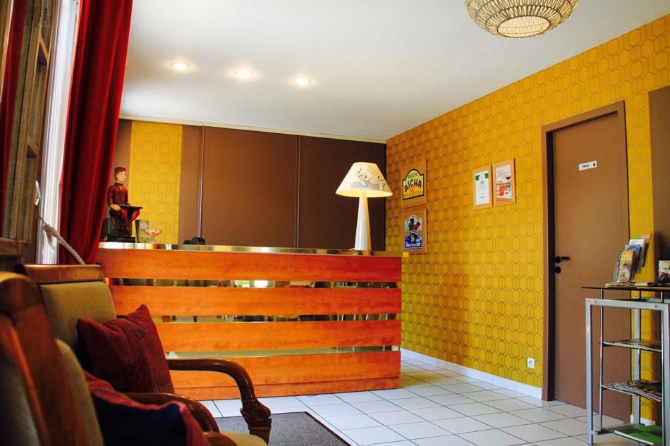 12 Hôtel l'Argentière réception