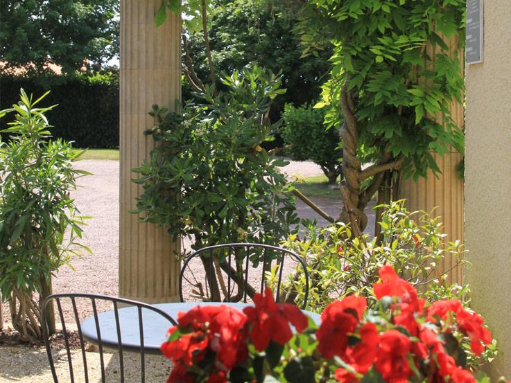 06 Hôtel l'Argentière terrasse